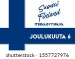 republic of finland... | Shutterstock .eps vector #1557727976