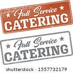 full service catering marketing ... | Shutterstock .eps vector #1557732179
