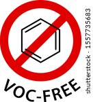 food additive label  voc... | Shutterstock .eps vector #1557735683