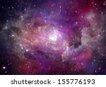 stars of a planet and galaxy in ... | Shutterstock . vector #155776193