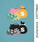 money | Shutterstock .eps vector #155778860