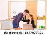 developing a relationship.... | Shutterstock . vector #1557839783