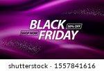 black friday sale banner design. | Shutterstock .eps vector #1557841616