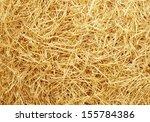 Golden Raw Straw Background