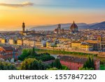 Sunset View Of Florence ...