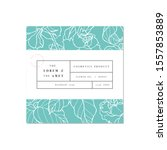 vector patten for cosmetics... | Shutterstock .eps vector #1557853889
