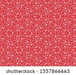 hand drawn christmas background.... | Shutterstock .eps vector #1557866663