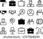 job vector icon set such as ...