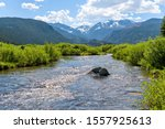 Big Thompson River   A Spring...
