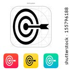 target icon. vector...