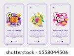 flat design responsive plan...   Shutterstock .eps vector #1558044506