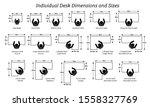 different individual desktop... | Shutterstock .eps vector #1558327769