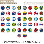 flag collection of america ... | Shutterstock .eps vector #1558366679