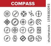 compass navigation collection... | Shutterstock .eps vector #1558382093
