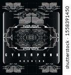 cyberpunk hacking futuristic...