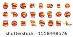 spain flag  vector illustration ...   Shutterstock .eps vector #1558448576