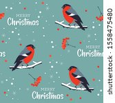 christmas pattern with...   Shutterstock .eps vector #1558475480