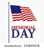 patriotic vector illustration... | Shutterstock .eps vector #155849678