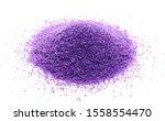 Decorative Purple Sand Pile ...
