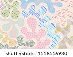 kids pastel texture background... | Shutterstock .eps vector #1558556930