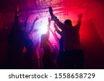 Active. A Crowd Of People In...