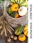 thanksgiving background | Shutterstock . vector #155874410