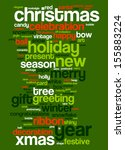 an image of nice christmas text ... | Shutterstock .eps vector #155883224