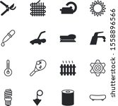equipment vector icon set such... | Shutterstock .eps vector #1558896566
