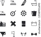equipment vector icon set such... | Shutterstock .eps vector #1558901690
