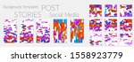 creative backgrounds for social ... | Shutterstock .eps vector #1558923779