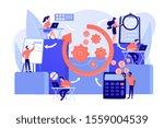 workforce organization and... | Shutterstock .eps vector #1559004539