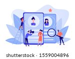 modeling agency manager and... | Shutterstock .eps vector #1559004896