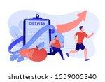 businessman running and losing... | Shutterstock .eps vector #1559005340