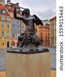 Warsaw Mermaid.  Warsaw  Polan...