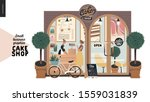 cake shop  cakes on demand  ... | Shutterstock .eps vector #1559031839