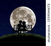 Romantic Illustration With...