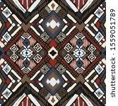 tribal vector ornament.... | Shutterstock .eps vector #1559051789