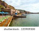 assos  behramkale  ancient... | Shutterstock . vector #155909300