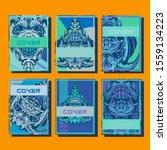 creative brochure templates... | Shutterstock .eps vector #1559134223