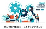 vector illustration of people... | Shutterstock .eps vector #1559144606