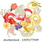 Traditional Chinese Dragon For...