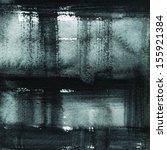 black abstract watercolor macro ... | Shutterstock . vector #155921384