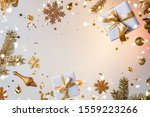 merry christmas and new year... | Shutterstock . vector #1559223266
