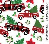 Buffalo Christmas Seamless...
