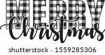 Buffalo Plaid Merry Christmas...