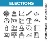 voting and elections collection ... | Shutterstock .eps vector #1559286200