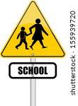 school  sign | Shutterstock .eps vector #155939720