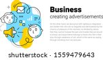 vector creative template with... | Shutterstock .eps vector #1559479643