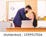 close intimite workplace... | Shutterstock . vector #1559517026