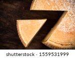 Hard Matured Cheese Wheel....